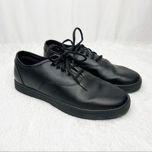 TREDSAFE / Kensley black slip resistant sneakers